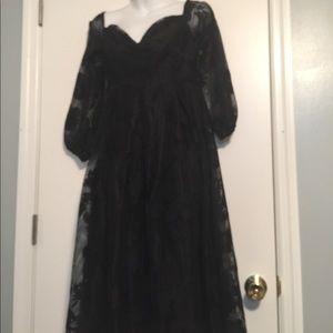 2d977a031992 Boohoo Dresses | Boutique Ale Lace Bardot Long Sleeves Dress | Poshmark